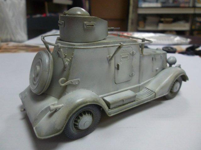 Бронеавтомобиль БА-20 Ж/Д, 1/35, (Старт). A8587d80cadf