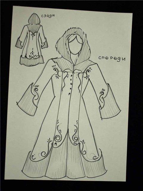 Пальто, куртки, кардиганы. Обсуждение проектов. A0674d71523c