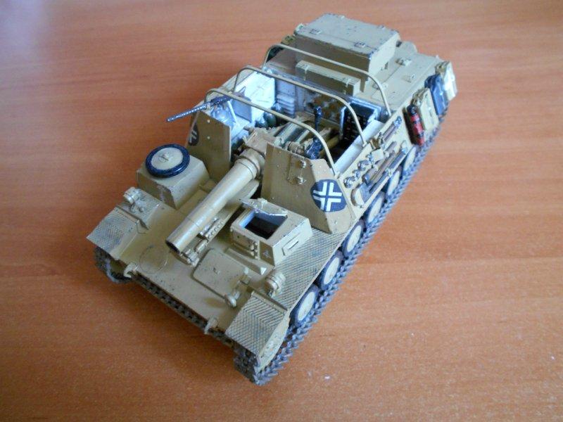 Немецкое 150-мм самоходное орудие Штурмпанцер II 1/35 (Арк модел) E41eb5185c84