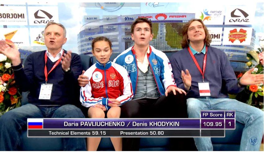 Дарья Павлюченко-Денис Ходыкин 7c70f7961afa