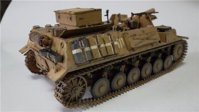 15 cm sIG auf Fahrgestell Pz II или Sturmpanzer II, 1/35, (ARK 35012) F8fcc49ddd12