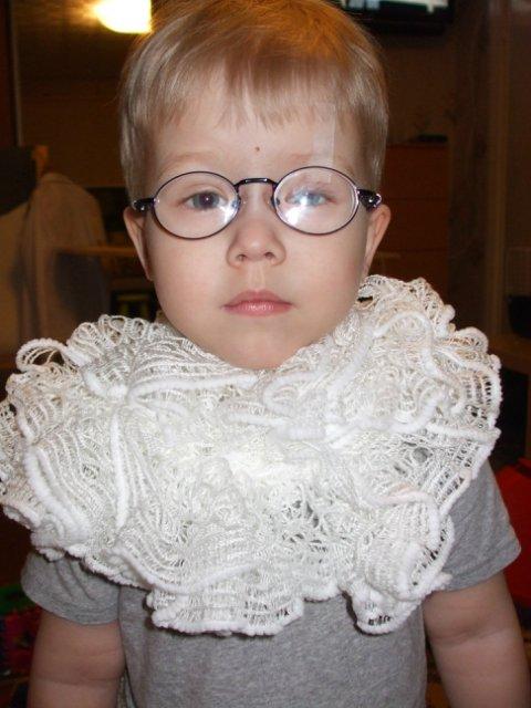 Вязаная шаль, шарфы - Страница 4 F4b23e18af24