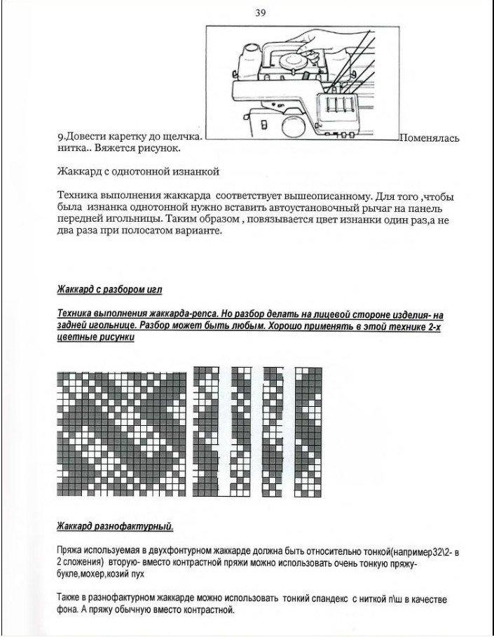 Начальный курс по обучению вязания на вязальной машине SILVER REED   - Страница 4 Eb6b7fd3472e