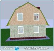 Проект часного дома с мансардой  Fc73667e6462