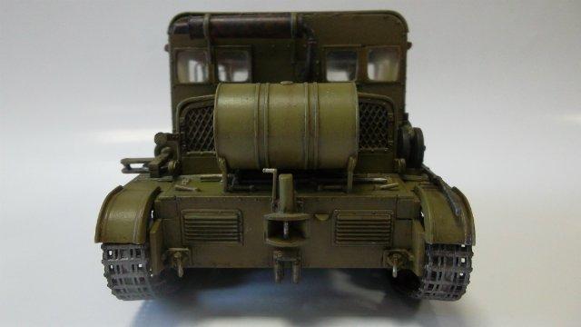 Тягач Т-26 / трофейный польский С7Р, 1/35, (Mirage hobby 35903). Dccb34b43a91