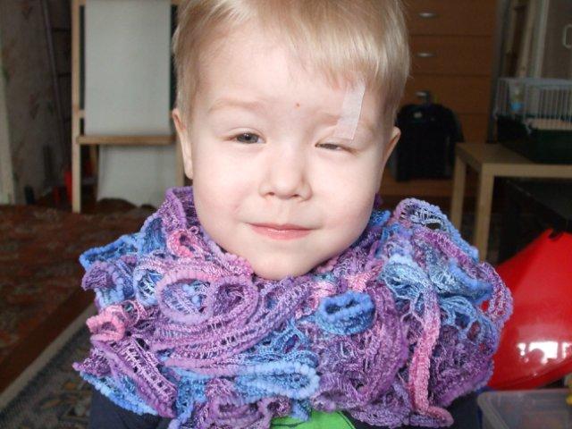 Вязаная шаль, шарфы - Страница 4 93311d92f855