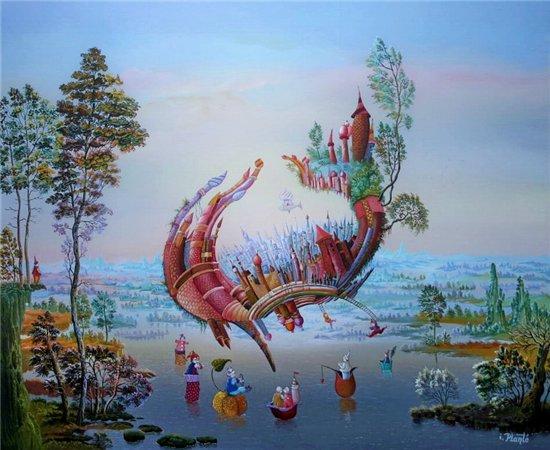 Мир волшебства в живописи. Аллегорические сюжеты. E7b58e4b6635