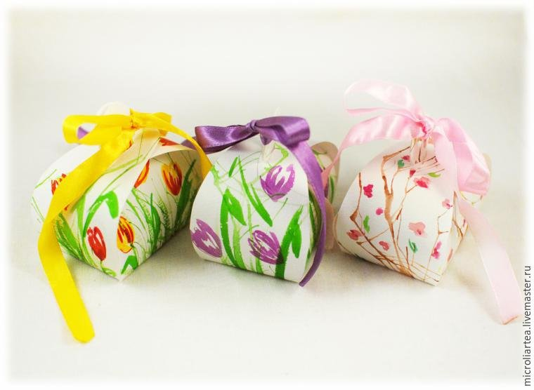 Сумочка - упаковка для подарка 0dd477a1862b