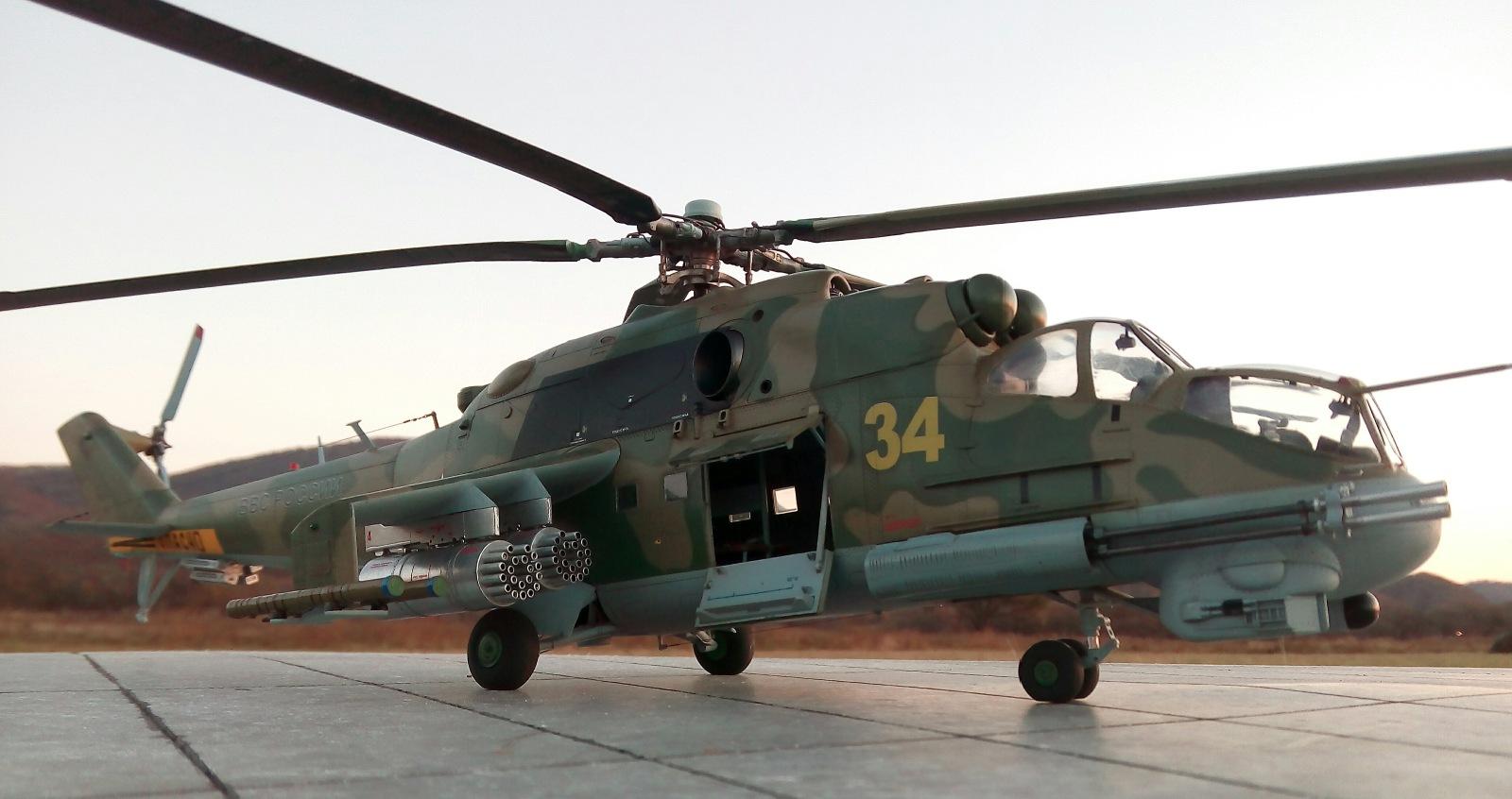 Ми-24П. Trumpeter. 1/35 Fc34b68d1612