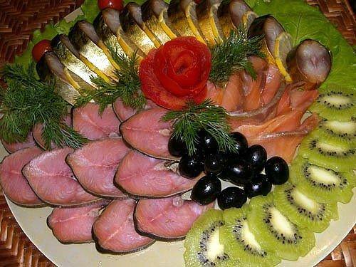 Фотоподборка оригинально оформленных блюд Eb5e96e324fa