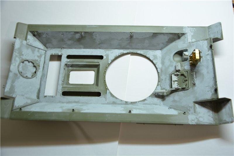 Т-34/85 model 1944г. Factory №. 174 маштаб 1/16 Trumpeter 57db8564b788