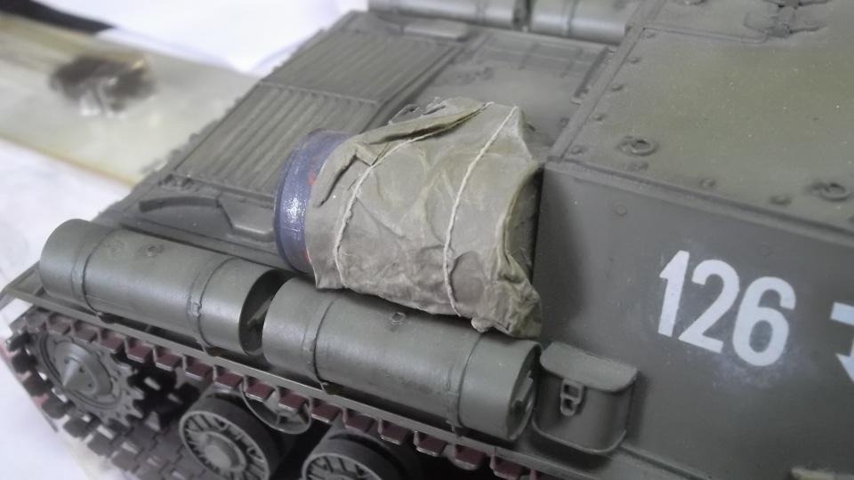 """ИСУ-152 """"Зверобой"""", 1/35, (Звезда 3532) перекраска старой модели. F097faee596a"""