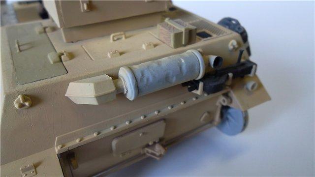 15 cm sIG auf Fahrgestell Pz II или Sturmpanzer II, 1/35, (ARK 35012) 2bef93e8d3e0