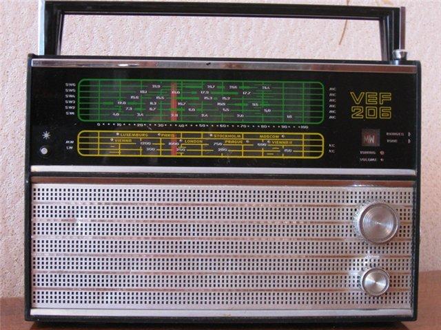 Старое радио 8345ef64ad13