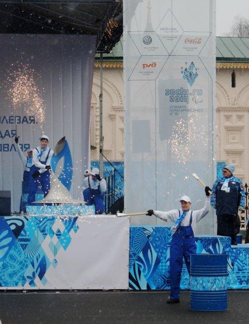 """Эстафета Паралимпийского огня """"Сочи 2014"""" в г. Ярославле 8420de4650c2"""