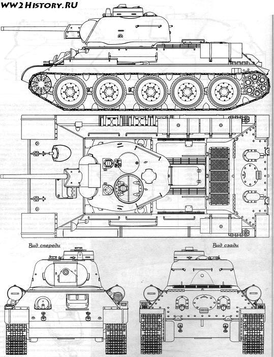 DRAGON Т-34-76 1fb262a2b8ed
