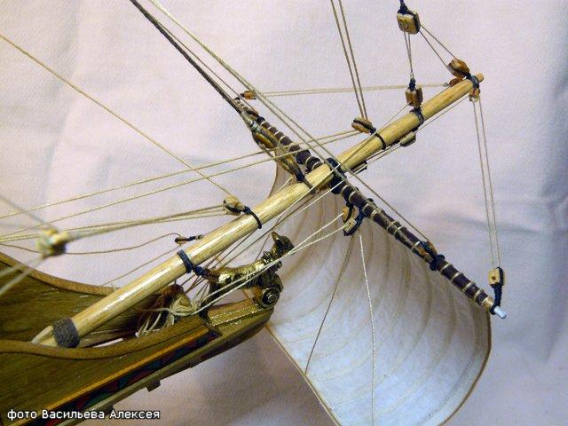Галеон GOLDEN HIND (Золотая лань) ЖЕЛЕЗНОГО ПИРАТА масштаб 1:53 91eec2d0866d