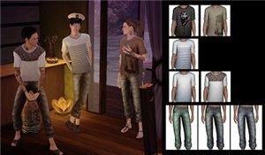 Повседневная одежда (комплекты с брюками, шортами)   - Страница 3 0b2581630920
