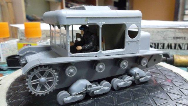 Тягач Т-26 / трофейный польский С7Р, 1/35, (Mirage hobby 35903). D4085937253f