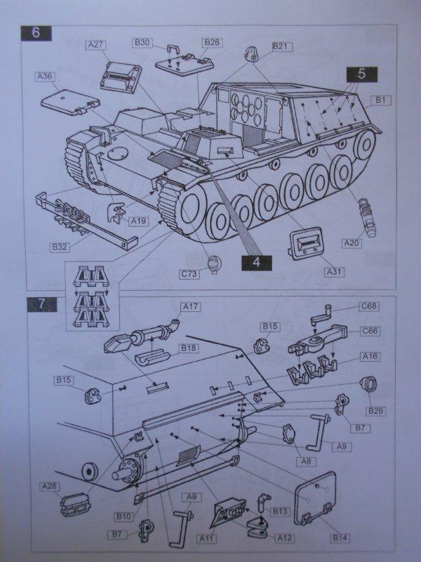 Немецкое 150-мм самоходное орудие Штурмпанцер II 1/35 (Арк модел) 884e27d17f10