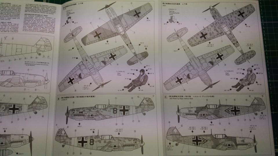 Bf 109 E7/Trop Tamiya 1:48 F7bf93326f99