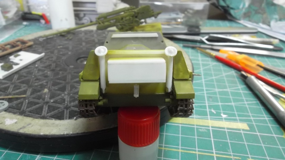 ЗиС-30 Противотанковая самоходная установка, 1/35, (MSD 35014). C5bbeb5fa87a