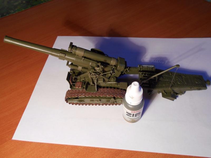 Советская 203-мм гаубица Б-4 1/35 (Alan №3522) - Страница 2 D996912a050e