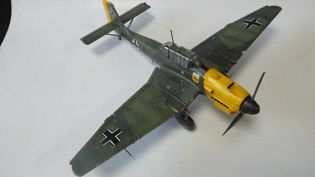 Ju-87 B-2 «Stuka», 1/48, (Tamiya 37008). Dad3c100c81d