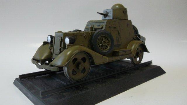 Бронеавтомобиль БА-20 Ж/Д, 1/35, (Старт). Cd1595244eec