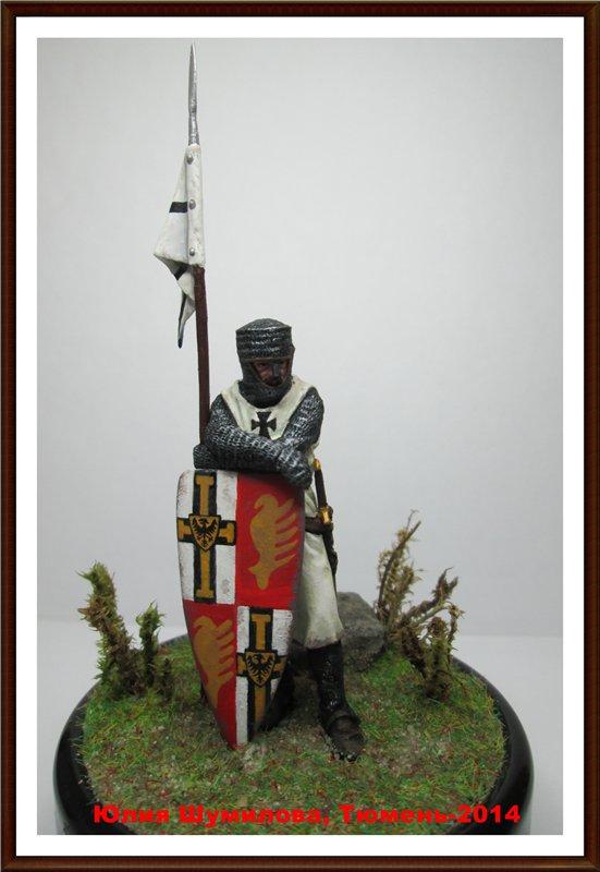 Рыцарь тевтонского ордена, сер. 13 в. 03ec4bff13ed