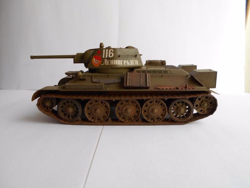 Т-34/76 выпуск начала 1943г 1/35 (Моделист №303529) - Страница 2 6e090e8a24f0