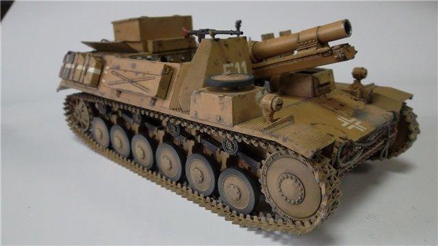 15 cm sIG auf Fahrgestell Pz II или Sturmpanzer II, 1/35, (ARK 35012) 3e40666e2f92