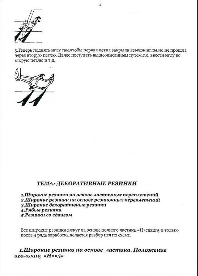 Начальный курс по обучению вязания на вязальной машине SILVER REED   - Страница 3 E50e782f9092