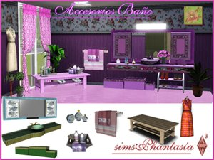 Декоративные объекты для ванных комнат Bec4178bcd1b