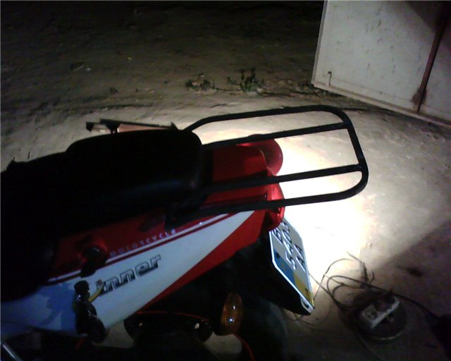 Съёмный багажник на  Zongshen ZS200GS 73c4c5186267