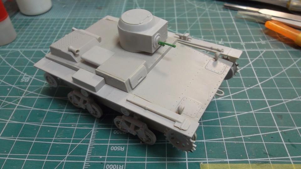 Т-38 малый плавающий танк, 1/35, (Восточный экспресс 35002 / MSD 3522 / AER Moldova). C9638cb0b121