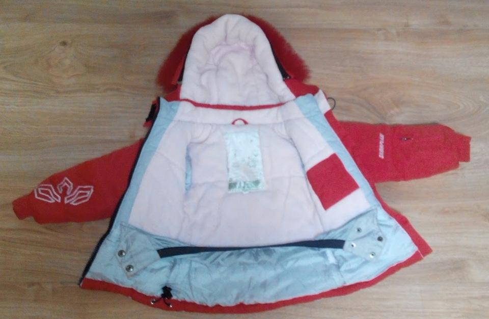 Зимний термокомбинезон куртка+штаны Scorpian для девочки 104 размер 0cc257e21f5f