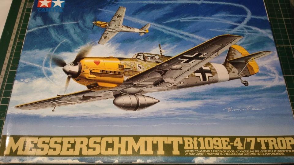 Bf 109 E7/Trop Tamiya 1:48 9a2096c5ce22