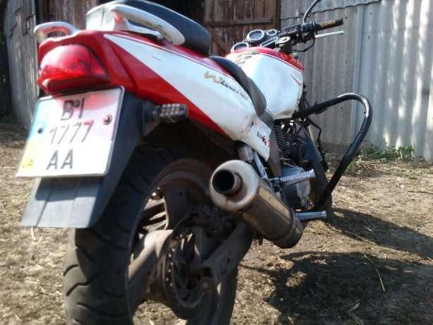 Обменяю мотоцикл Zongshen ZS200GS на велосипед 99f293898260