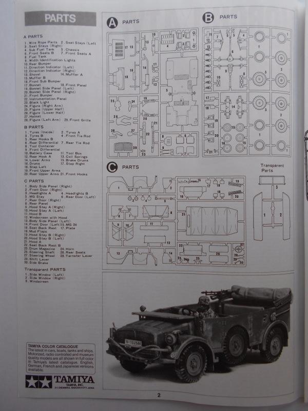 Обзор Horch Type 1A 1/35 (Tamiya №35052) Bafb0b64722a