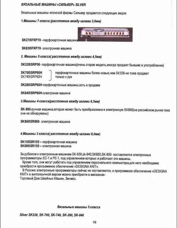 Начальный курс по обучению вязания на вязальной машине SILVER REED   - Страница 2 7b02fef18483