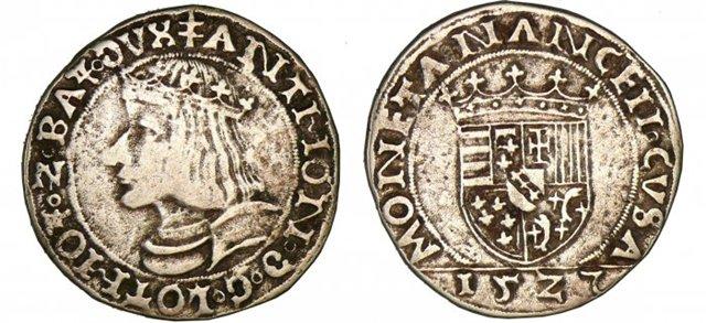 Teston. Lorraine  (Estados alemanes) 1516 Baf50144e744