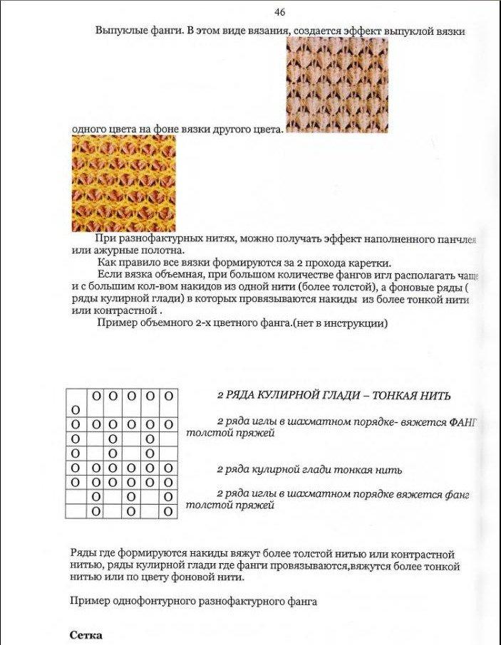 Начальный курс по обучению вязания на вязальной машине SILVER REED   - Страница 4 178d92b6a987