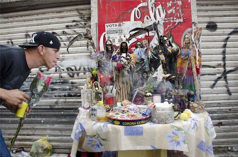 Santa Muerte. Святая Смерть D926fa51e5cc