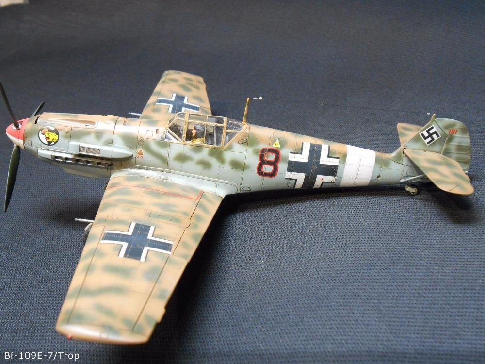 Bf 109 E7/Trop Tamiya 1:48 35269f4432dd