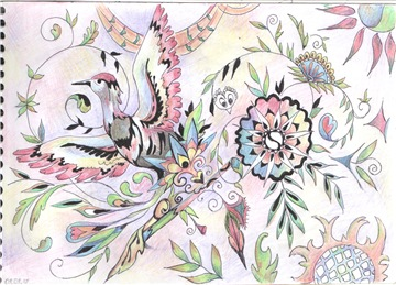 Рисунки ручкой F5665cdd70f8t