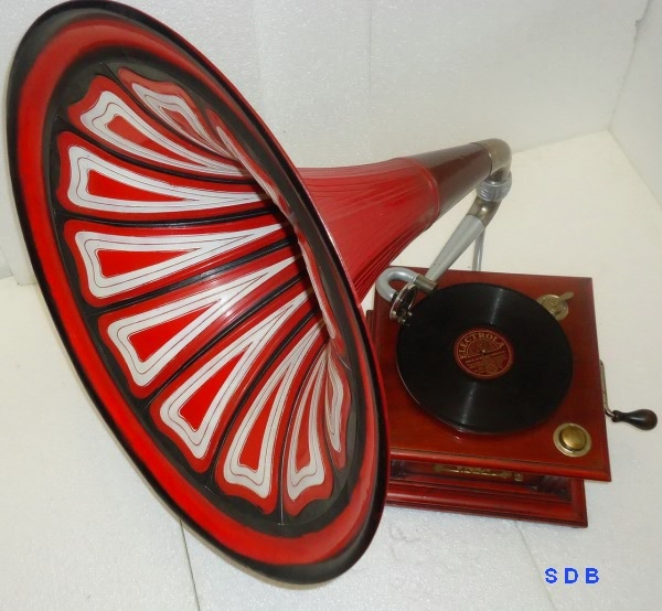 Востановление трубного граммофона. 4b6cc1f00b69