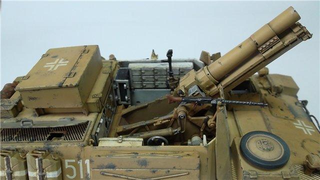 15 cm sIG auf Fahrgestell Pz II или Sturmpanzer II, 1/35, (ARK 35012) 18888d1d712b