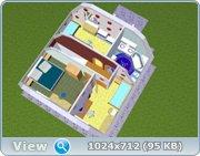 Проект часного дома с мансардой  E78290fab194