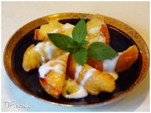 Греция. Печёная айва с йогуртом. Bd1289cd2dc0
